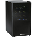 18-BOTTLE DUAL ZONE WINE COOLER TOUCHSCREEN